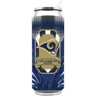 Los Angeles Rams Insulated Stainless Steel Thermo Can Travel Tumbler NFL