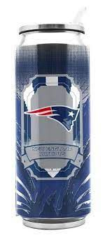 New England Patriots Insulated Stainless Steel Thermo Can Travel Tumbler NFL