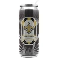 New Orleans Saints Insulated Stainless Steel Thermo Can Travel Tumbler NFL