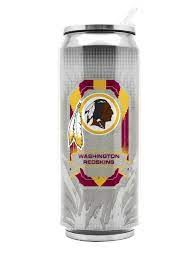 Washington Redskins Insulated Stainless Steel Thermo Can Travel Tumbler NFL