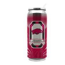 Arkansas Razorbacks Insulated Stainless Steel Thermo Can Travel Tumbler NCAA
