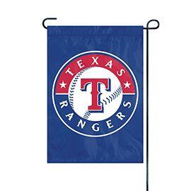 """Texas Rangers Garden Flag Embroidered 12.5"""" x 18"""""""
