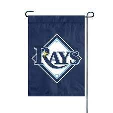 """Tampa Bay Rays Garden Flag Embroidered 12.5"""" x 18"""""""