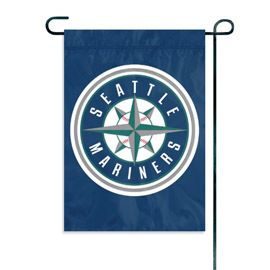 """Seattle Mariners Garden Flag Embroidered 12.5"""" x 18"""""""