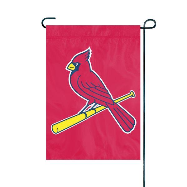 "St. Louis Cardinals Garden Flag Embroidered 12.5"" x 18"""