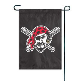 """Pittsburgh Pirates Garden Flag Embroidered 11"""" x 15"""""""