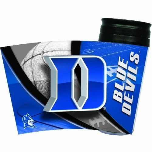 Duke Blue Devils Travel Tumbler Coffee Cup NCAA