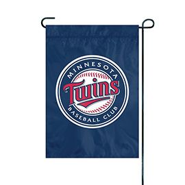 "Minnesota Twins Garden Flag Embroidered 12.5"" x 18"""