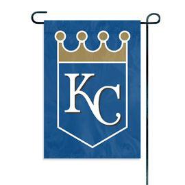"Kansas City Royals Garden Flag Embroidered 12.5"" x 18"""