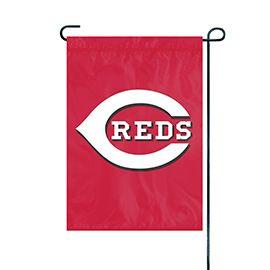 "Cincinnati Reds Garden - Yard Flag Embroidered 12.5"" x 18"""