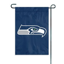 NFL Seattle Seahawks Embroidered Garden Flag