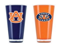 Auburn Tigers Tumbler Set Home/Away Twin Pack NCAA
