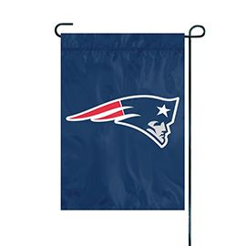 NFL New England Patriots Embroidered Garden Flag
