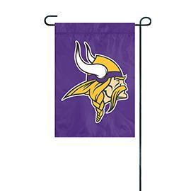NFL Minnesota Vikings Embroidered Garden Flag