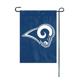 NFL Los Angeles Rams Embroidered Garden Flag