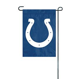 NFL Indianapolis Colts Embroidered Garden Flag