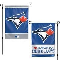 "Toronto Blue Jays 2 Sided Garden Flag 12"" x 18"""