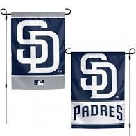 "San Diego Padres 2 Sided Garden Flag 12"" x 18"""
