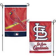 """St. Louis Cardinals 2 Sided Garden Flag 12"""" x 18"""""""