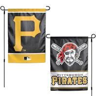 "Pittsburgh Pirates 2 Sided Garden Flag 12"" x 18"""