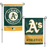 "Oakland Athletics 2 Sided Garden Flag 12"" x 18"""