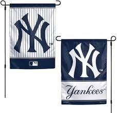 "New York Yankees 2 Sided Garden Flag 12"" x 18"""