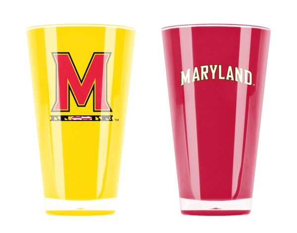 Maryland Terrapins Insulated Tumbler Home/Away Twin Pack NCAA