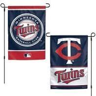 "Minnesota Twins 2 Sided Garden Flag 12"" x 18"""
