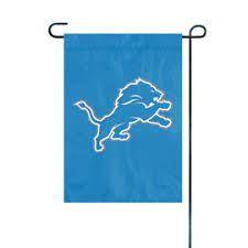 Detroit Lions Embroidered Garden Flag