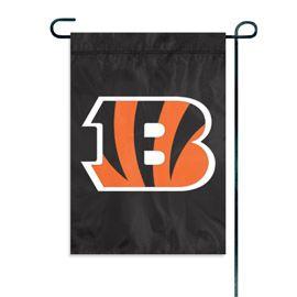 Cincinnati Bengals Embroidered Garden Flag