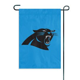 Carolina Panthers Embroidered Garden Flag