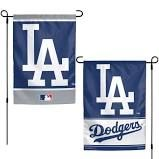 """Los Angeles Dodgers 2 Sided Garden Flag 12"""" x 18"""""""