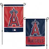"Los Angeles Angels 2 Sided Garden Flag 12"" x 18"""