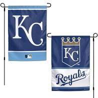 "Kansas City Royals 2 Sided Garden Flag 12"" x 18"""
