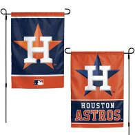 "Houston Astros 2 Sided Garden Flag 12"" x 18"""