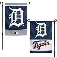 "Detroit Tigers 2 Sided Garden Flag 12"" x 18"""