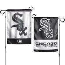 "Chicago White Sox 2 Sided Garden Flag 12"" x 18"""