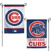 "Chicago Cubs 2 Sided Garden Flag 12"" x 18"""
