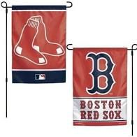 "Boston Red Sox 2 Sided Garden Flag 12"" x 18"""