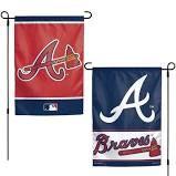 """Atlanta Braves 2 Sided Garden Flag 12"""" x 18"""""""