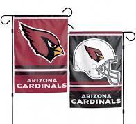 Arizona Cardinals NFL 2 Sided Garden Flag