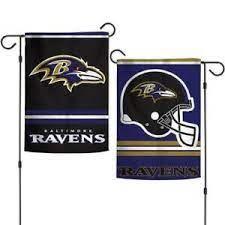 Baltimore Ravens NFL 2 Sided Garden Flag