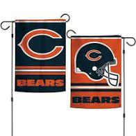 Chicago Bears NFL 2 Sided Garden Flag