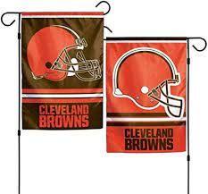 Cleveland Browns NFL 2 Sided Garden Flag