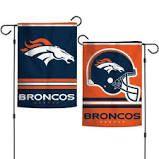 Denver Broncos NFL 2 Sided Garden Flag