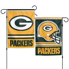 Green Bay Packers NFL 2 Sided Garden Flag