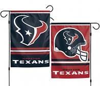 Houston Texans NFL 2 Sided Garden Flag