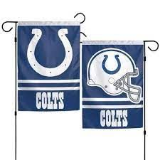 Indianapolis Colts NFL 2 Sided Garden Flag
