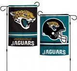 Jacksonville Jaguars NFL 2 Sided Garden Flag