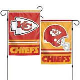 Kansas City Chiefs NFL 2 Sided Garden Flag